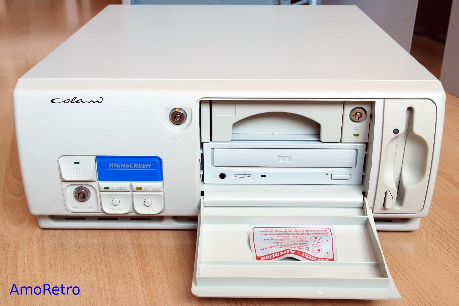 Highscreen Colani 486er Computer, DX4-100MHz, 32MB RAM ...