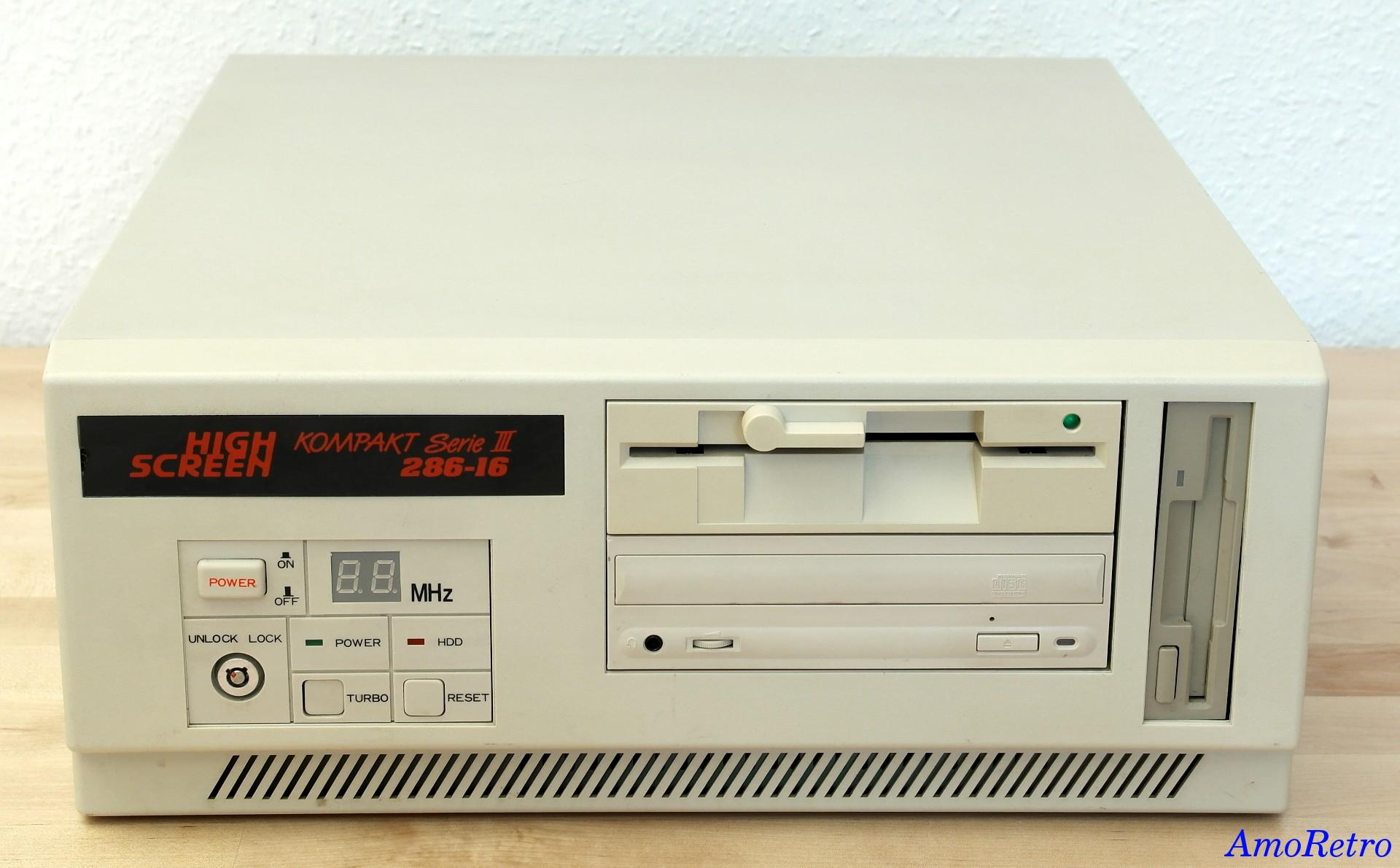 Highscreen 286-16MHz Kompakt III - Computer - 2x Floppy ...