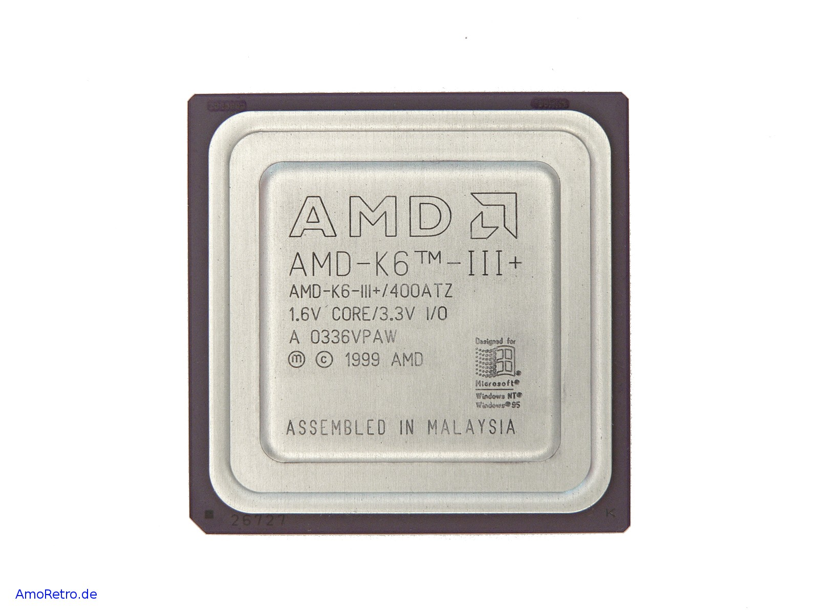 Amd K6 Iii 400 Mhz Cpu Amd K6 Iii 400atz 1 6v F R