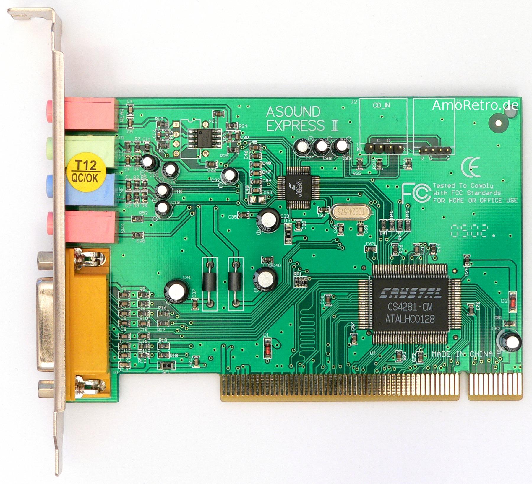 Sound blaster audiopci 64v