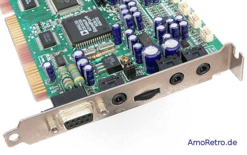 Oksori WS32 Soundkarte mit 4MB Wavetable Daughterboard